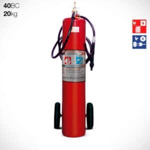 Extintor Carreta Pó BC 20kg (40BC)