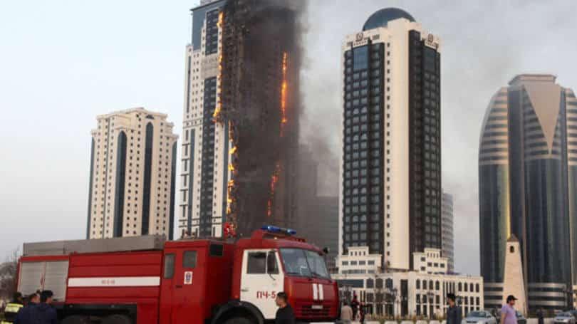Fogo edificio 40 andares