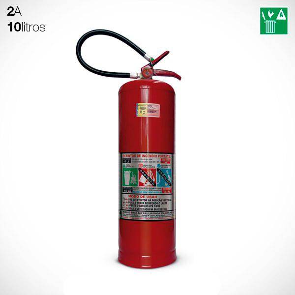 Extintor Água 10 litros (2A)