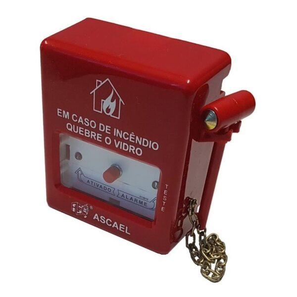 Botoeira Endereçável ABS Com Martelo - ABDE-AM 1024 - Ascael