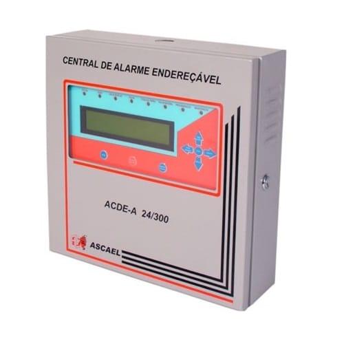 Obs: esta central funciona com os periféricos modelo 1024 da marca Ascael.