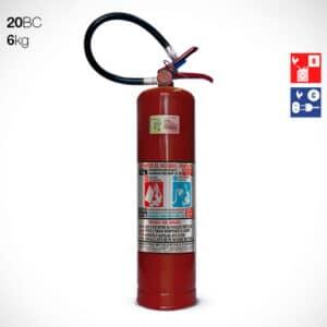 Extintor de Pó Químico Seco (PQS) BC 6Kg