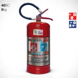 Extintor de Pó Químico Seco (PQS) BC 8Kg