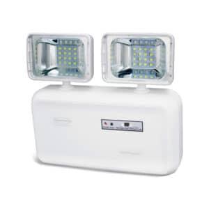 Iluminação Emergência LED 2 faróis 600 lúmens