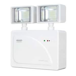 Iluminação de Emergência LED 2 faróis 3000 lúmens