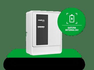 Bateria interna e fonte chaveada
