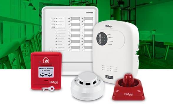 Contar com um sistema de detecção e prevenção completo, como a linha de alarme de incêndio Intelbras, é fundamental para garantir a segurança de todos.